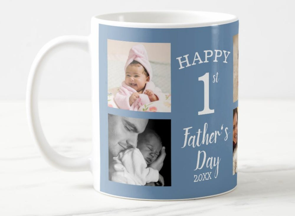 personalized father's day mug from zazzle