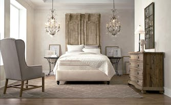 image of neat bedroom - staging a bedroom