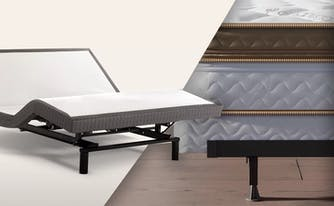 adjustable base vs box spring mattress foundation images