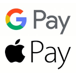 Google Pay and Apple Pay coming soon
