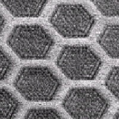 Microscopic view of honeycomb effect using NS21 as Non-Slip floor treatment