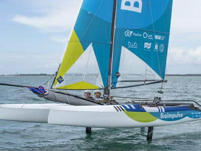 Manon et Quentin partagent leurs passions de l'olympisme sur Tip and Shaft