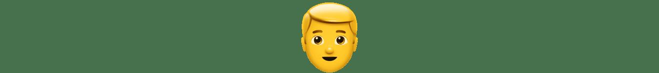 emoji of a person