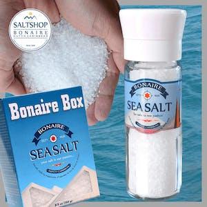 Salt grinder and Refill box