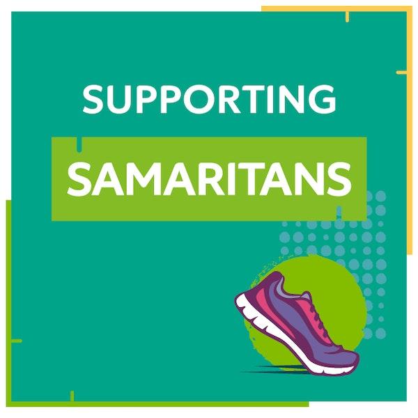 Supporting Samaritans logo