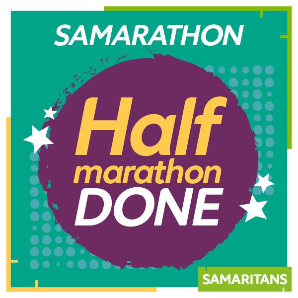 Half marathon done