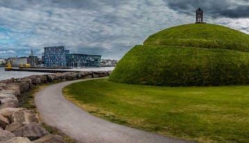 ©Reykjavik.is - þúfa, harpa, reykjavík