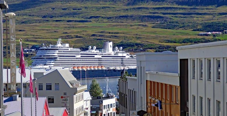 Akureyri, listagil, gilið,