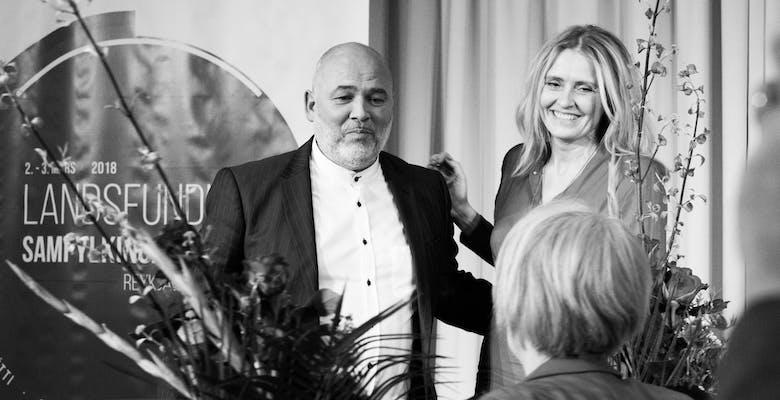Logi og Heiða, Landsfundur 2018,