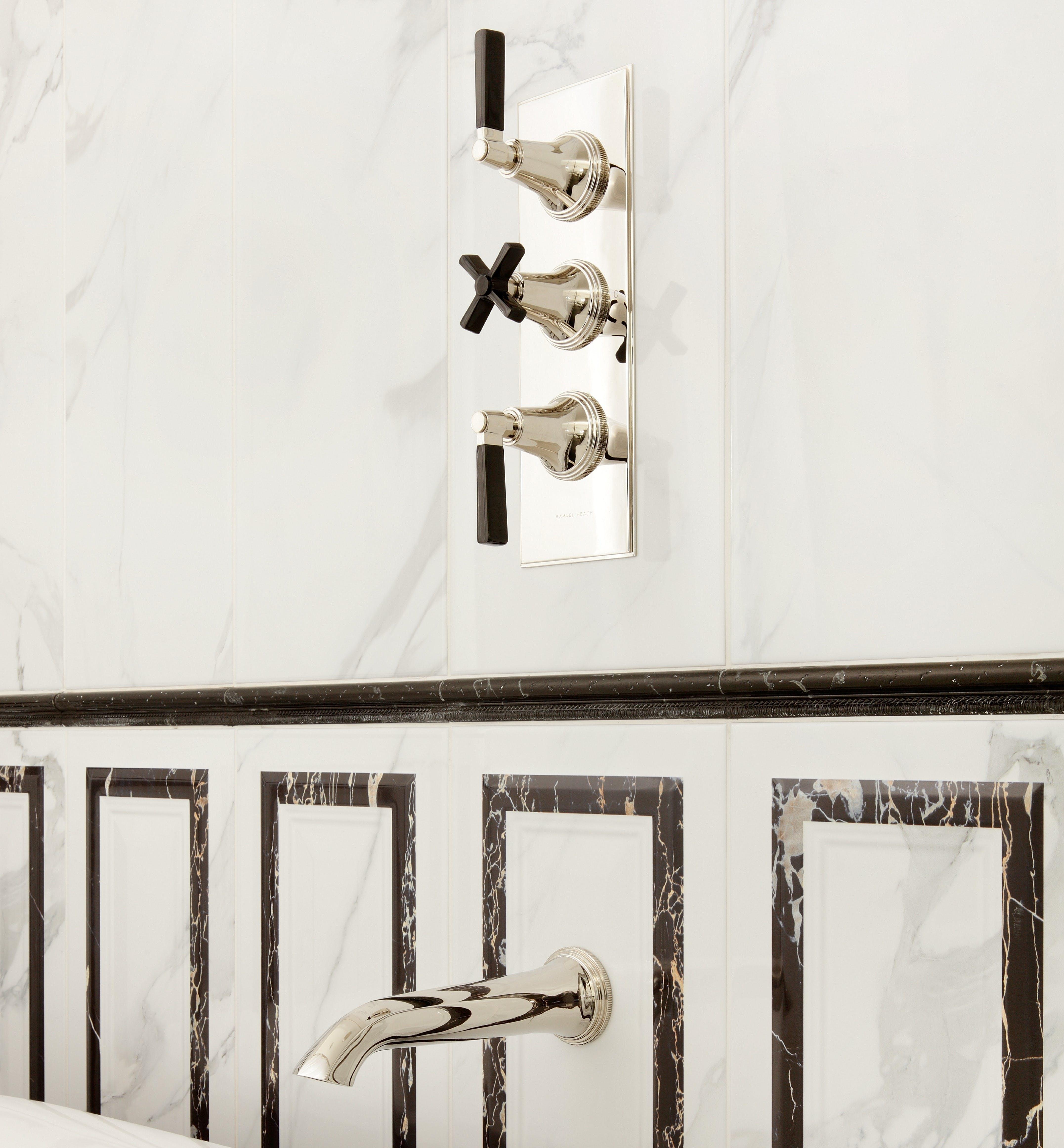 Luxury Art Deco taps