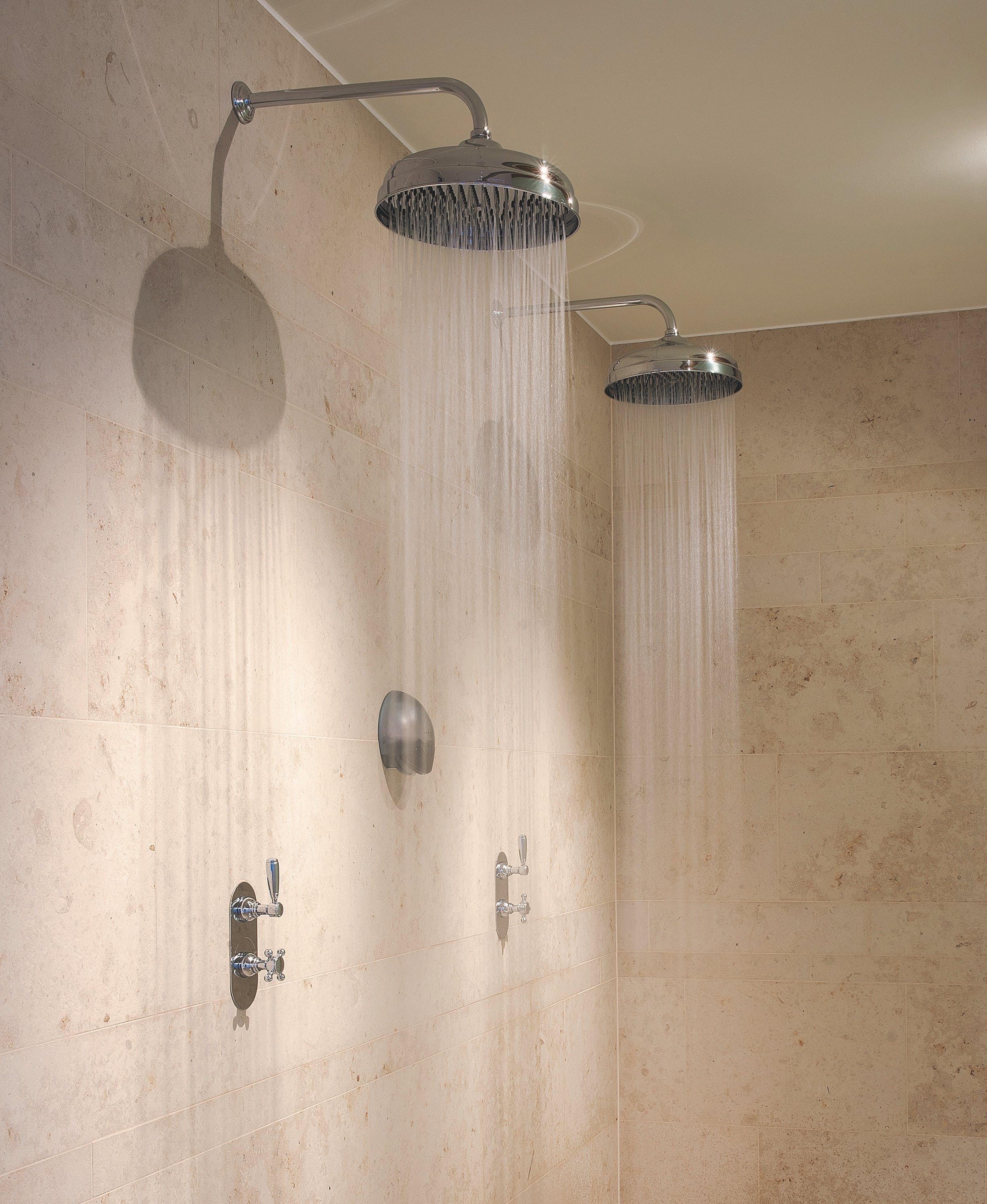 Samuel Heath WRAS approved Fairfield shower in Polished Nickel