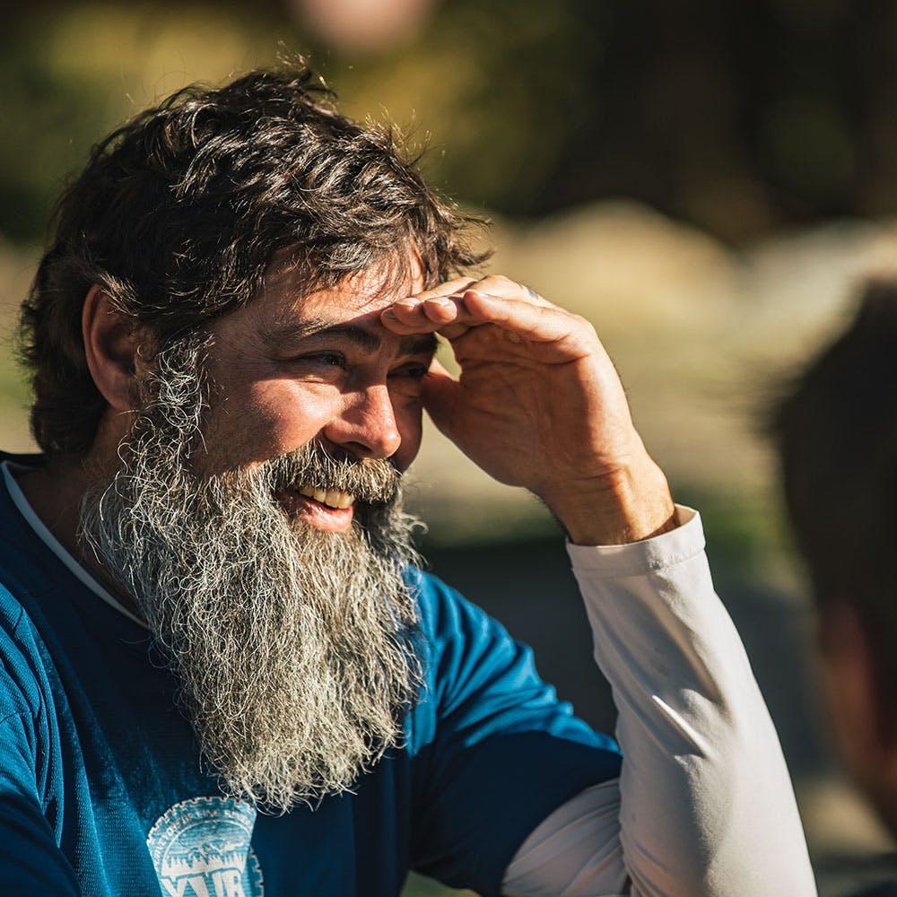 Portrait of Sierra Buttes Trail Stewardship founder Greg Williams