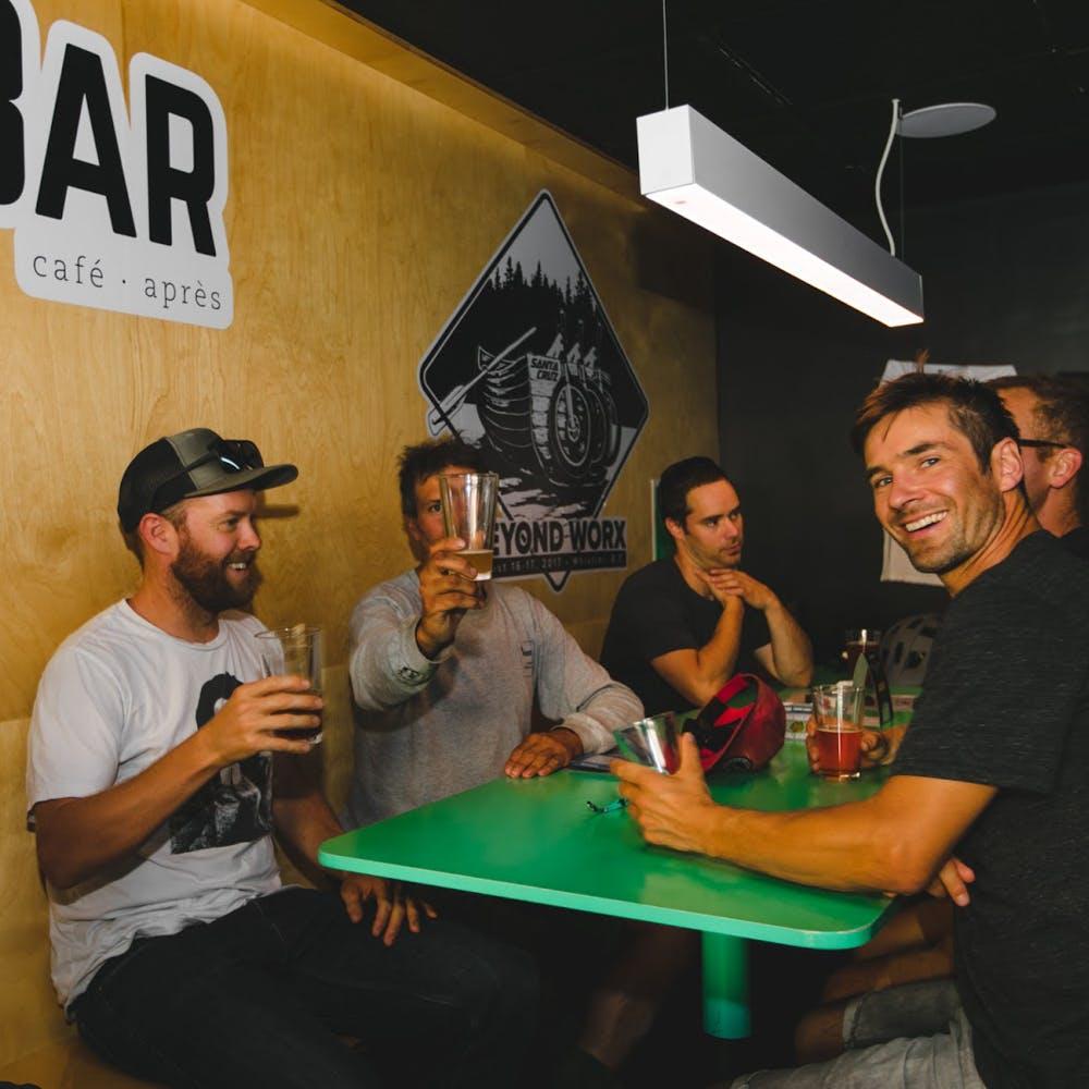 Beers for Builders at HandleBar in British Columbia