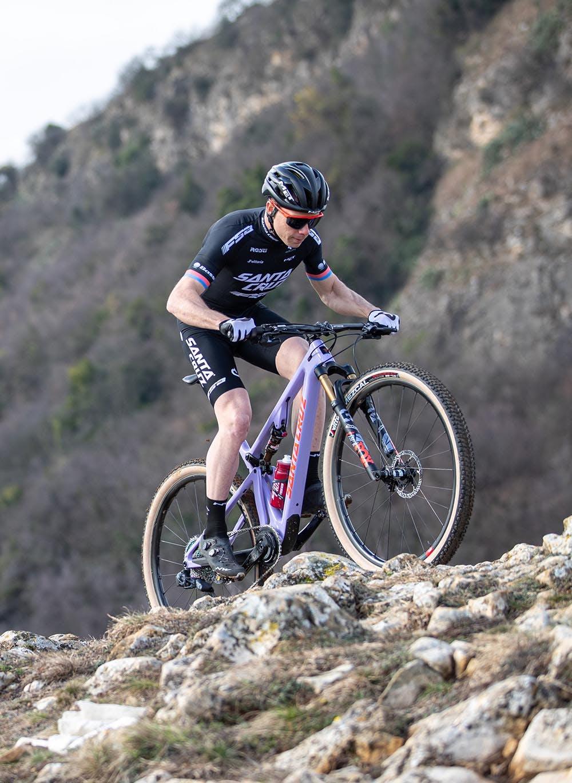 Maxime Marotte mountain biking in France