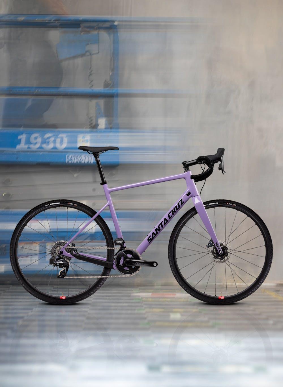 2022 Santa Cruz Stigmata gravel bike in purple