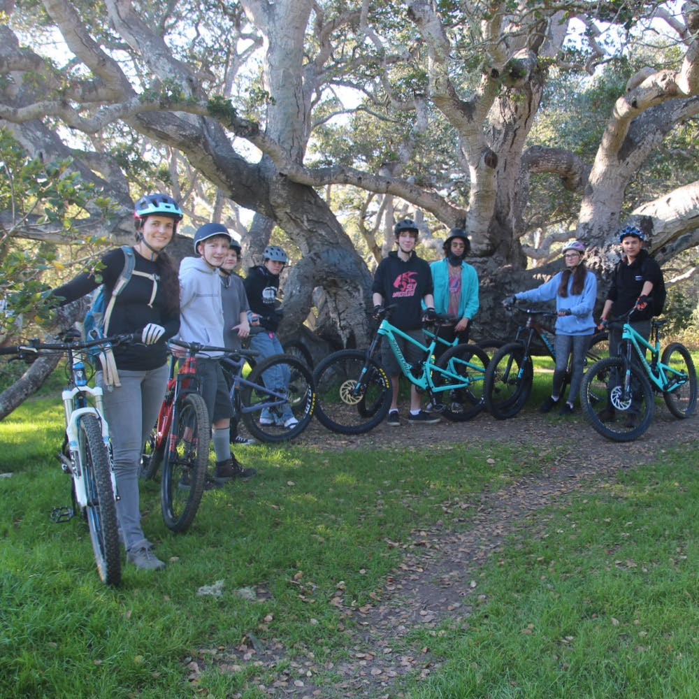 Cypress Charter High School: Teaching bicycle safety, etiquette, and trail maintenance