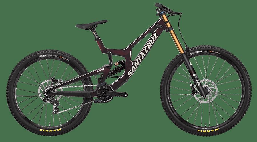 V10 downhill mountain bike