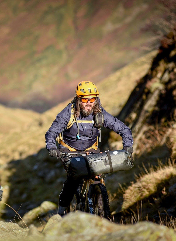 Andy McKenna riding with Aneela McKenna
