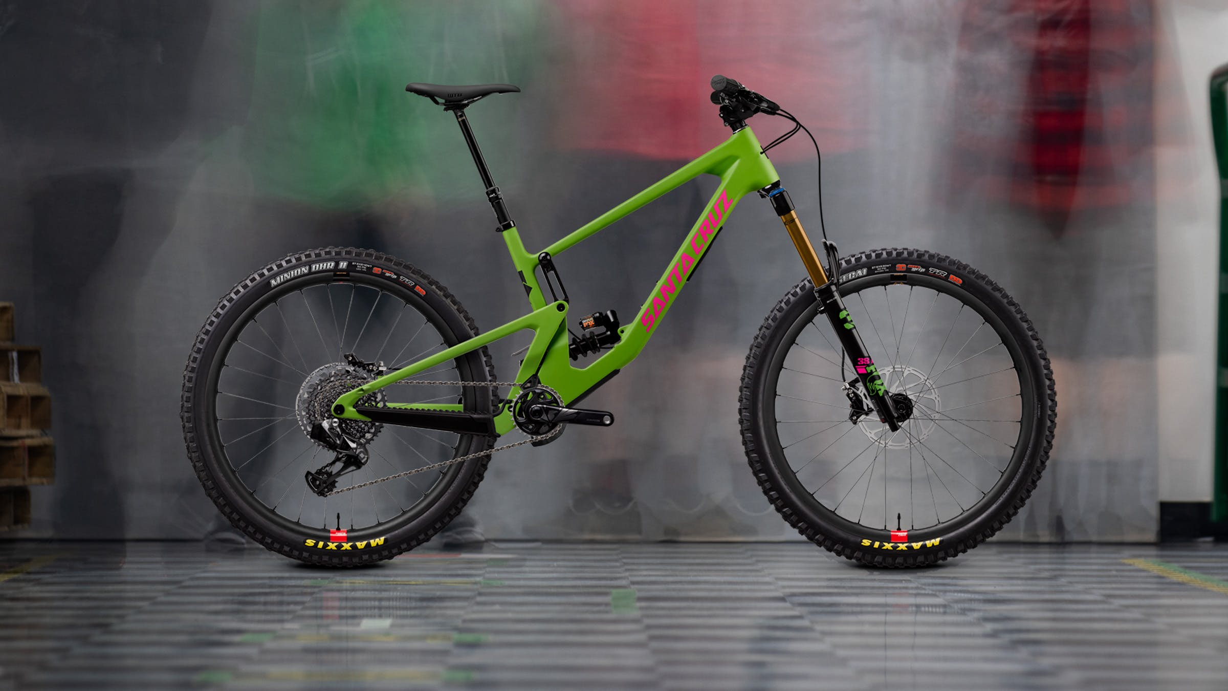 Nomad X01 AXS Reserve in Green