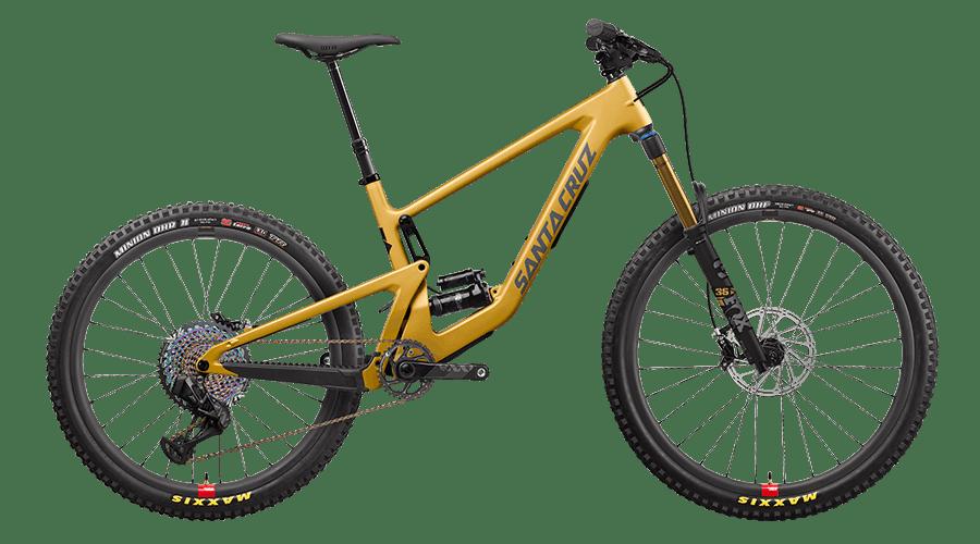 2022 Bronson 27.5 mountain bike in Paydirt gold