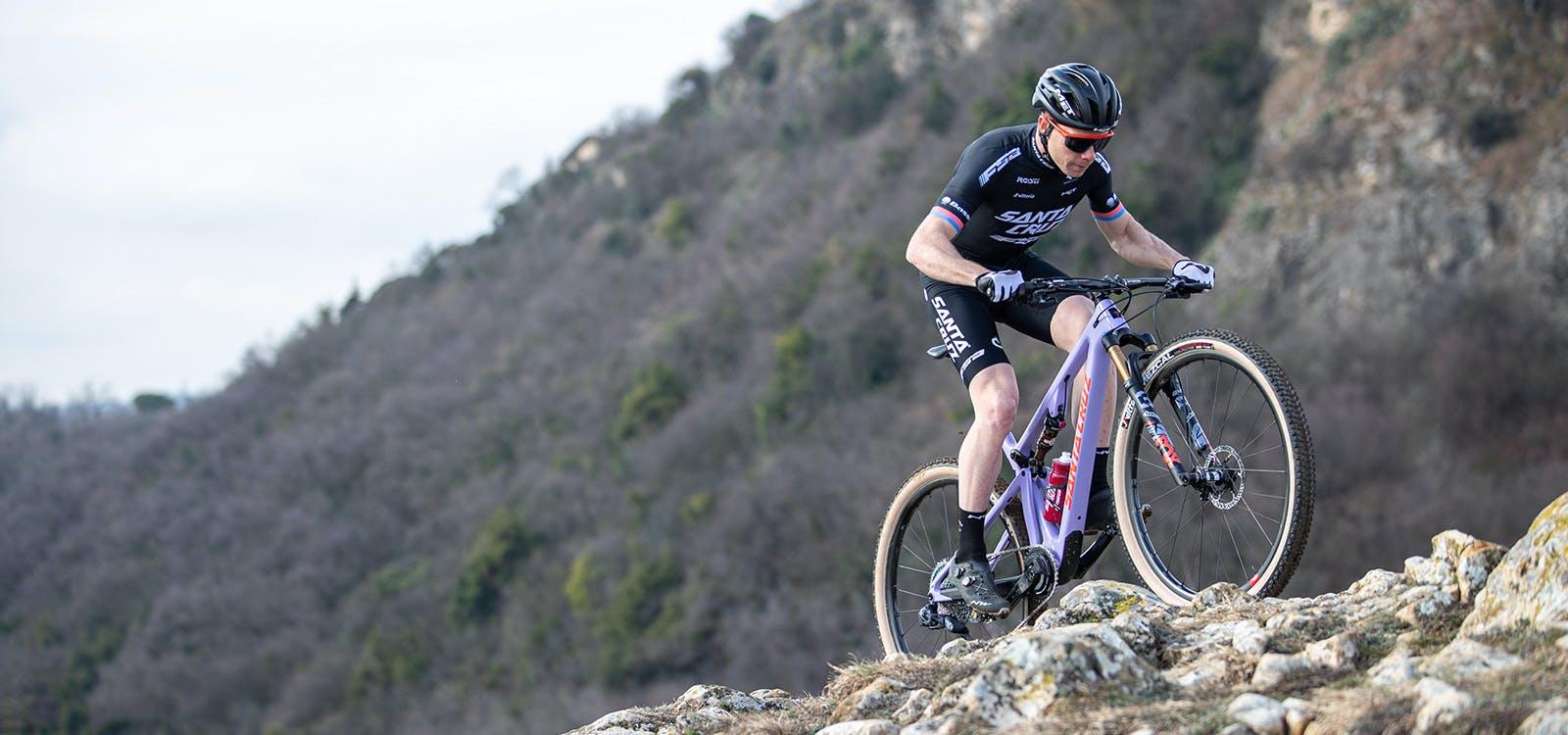 Maxime Marotte riding his Santa Cruz Blur