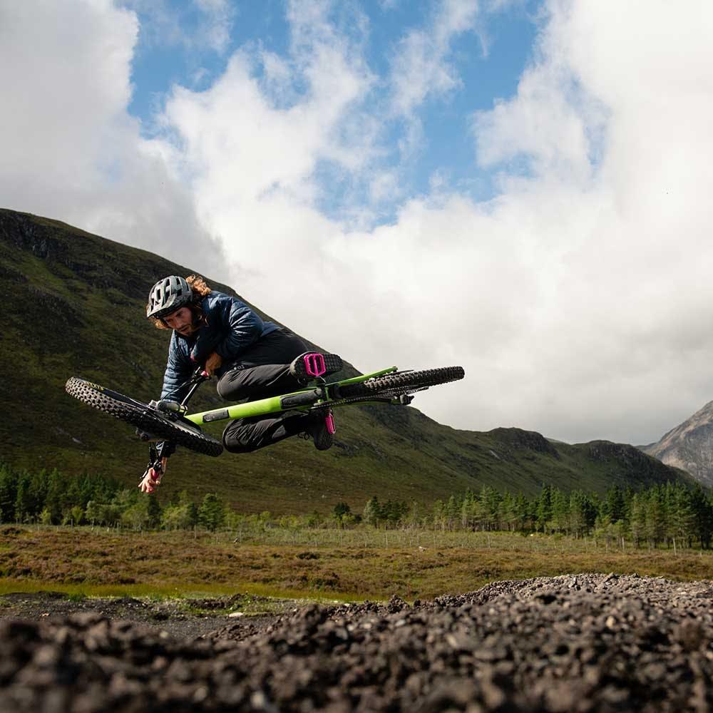 Jumping an adder green Nomad