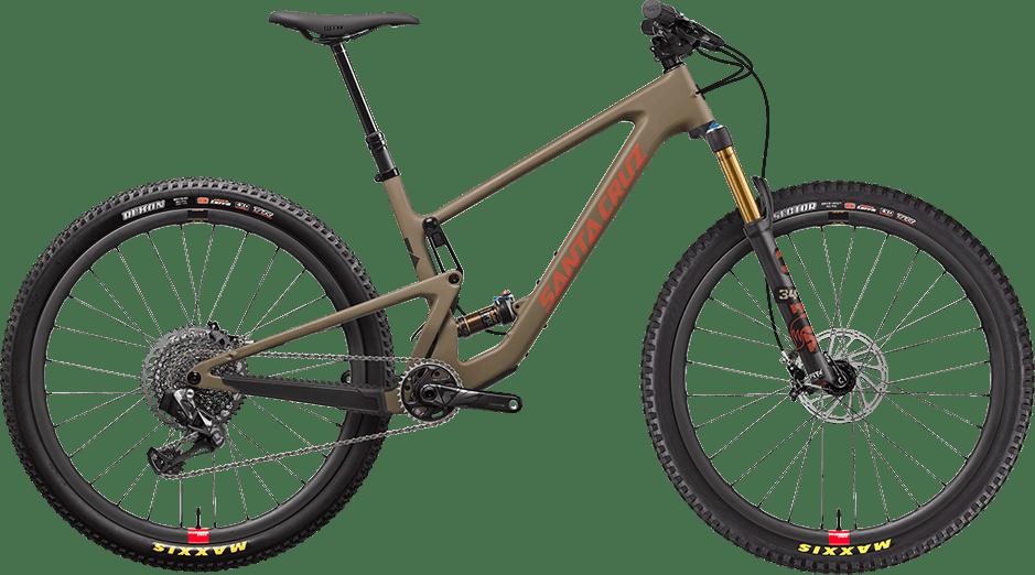 "2022 Tallboy 29"" mountain bike in Flatte Earth color"