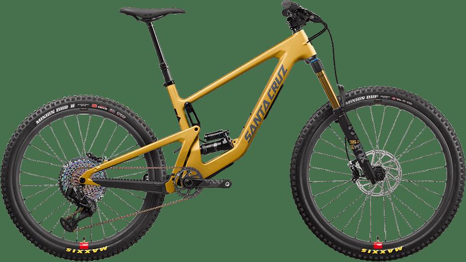 Bronson CC mixed wheel mountain bike in Paydirt Gold