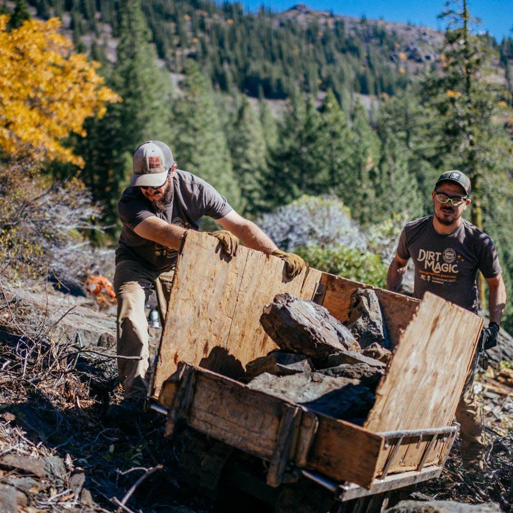 Sierra Buttes Trail Stewardship Trail Work