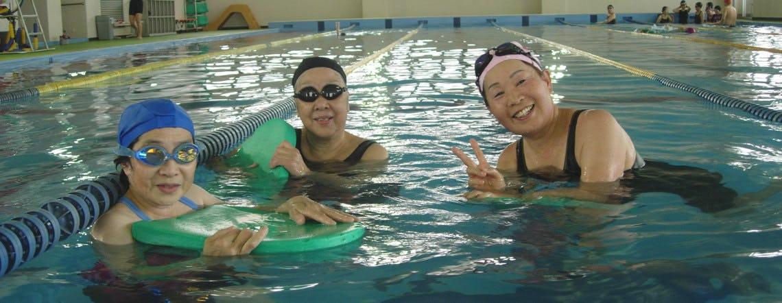 大人向けコース 水泳教室、水中運動コース