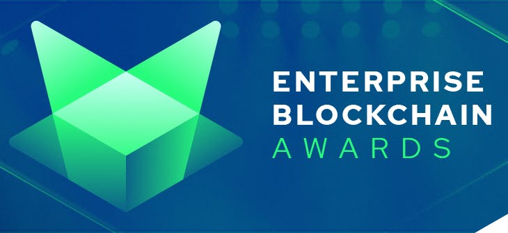 Bookchain nominated in the  2020 Enterprise Blockchain Awards