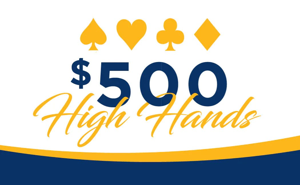 Monday, Tuesday & Wednesday High Hand of the Hour Giveaway