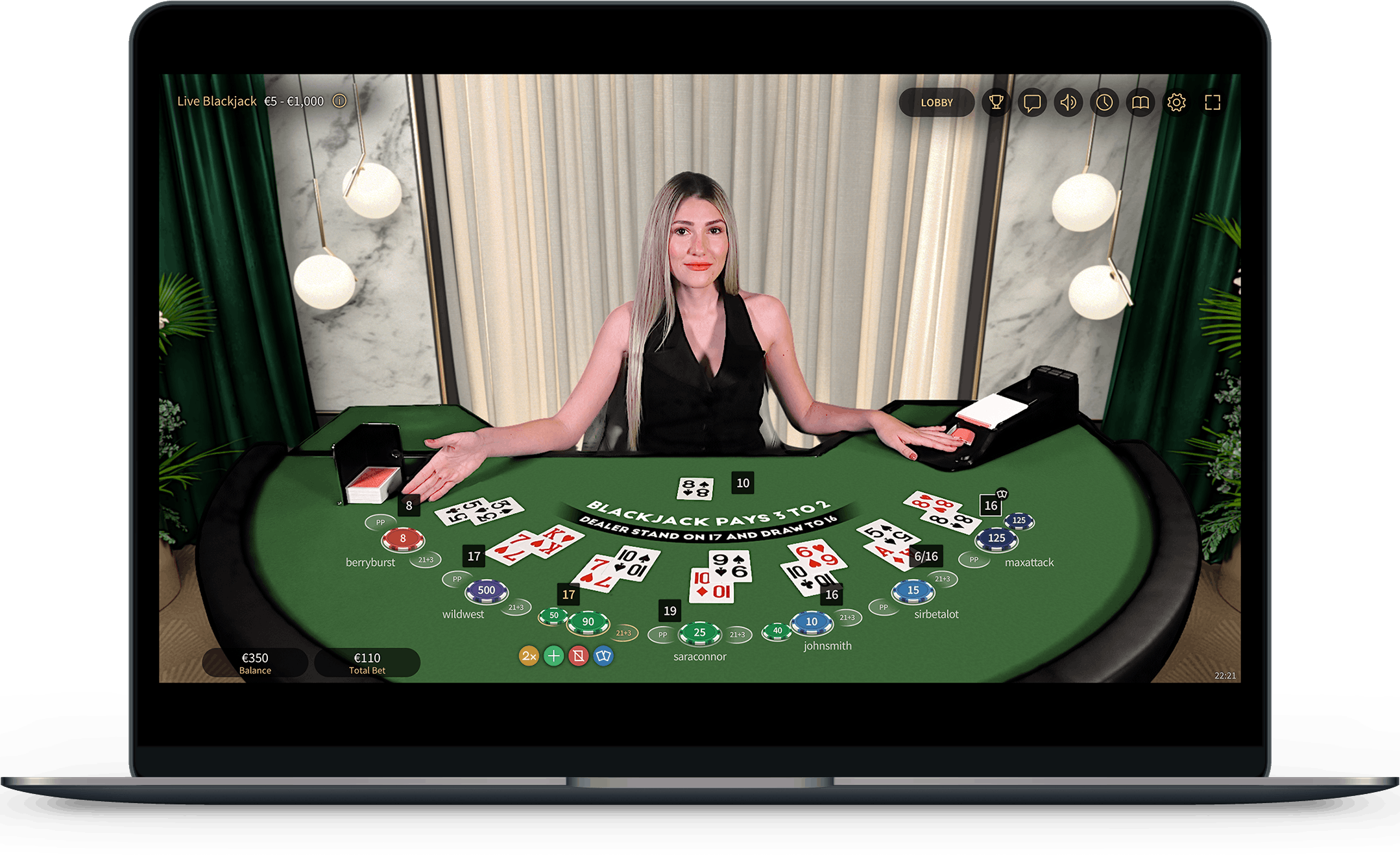Live Dealer Table Games