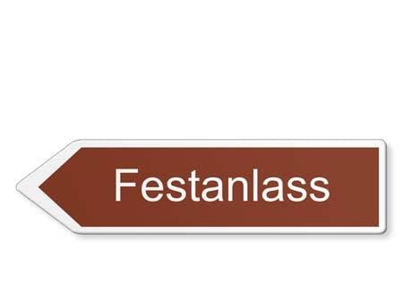 FESTANLASS WEGWEISER LINKS