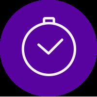 Clock minutes icon