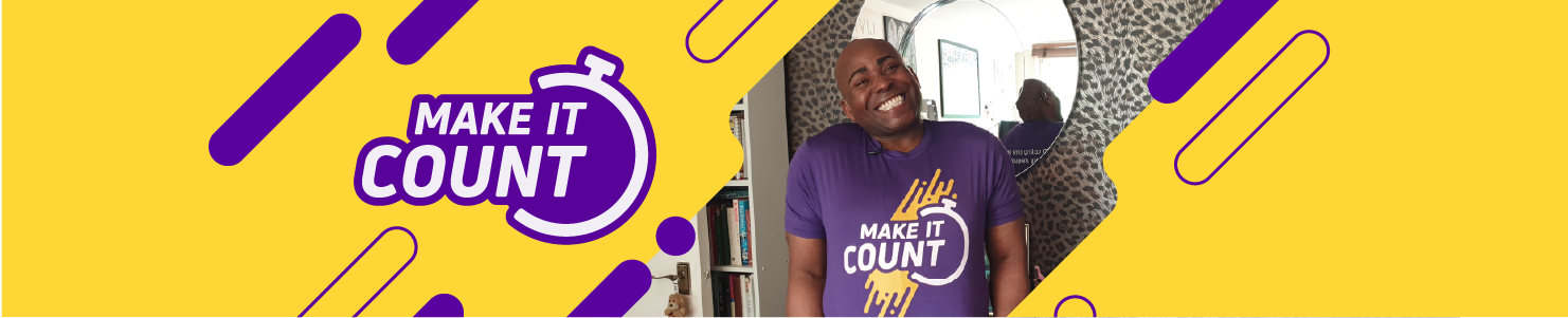 Scope Make It Count - help your fundraising header banner