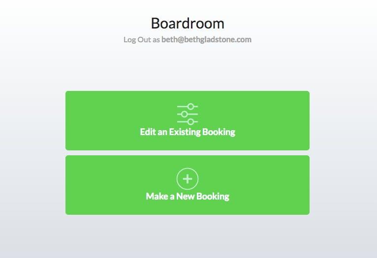 Add or edit meeting room