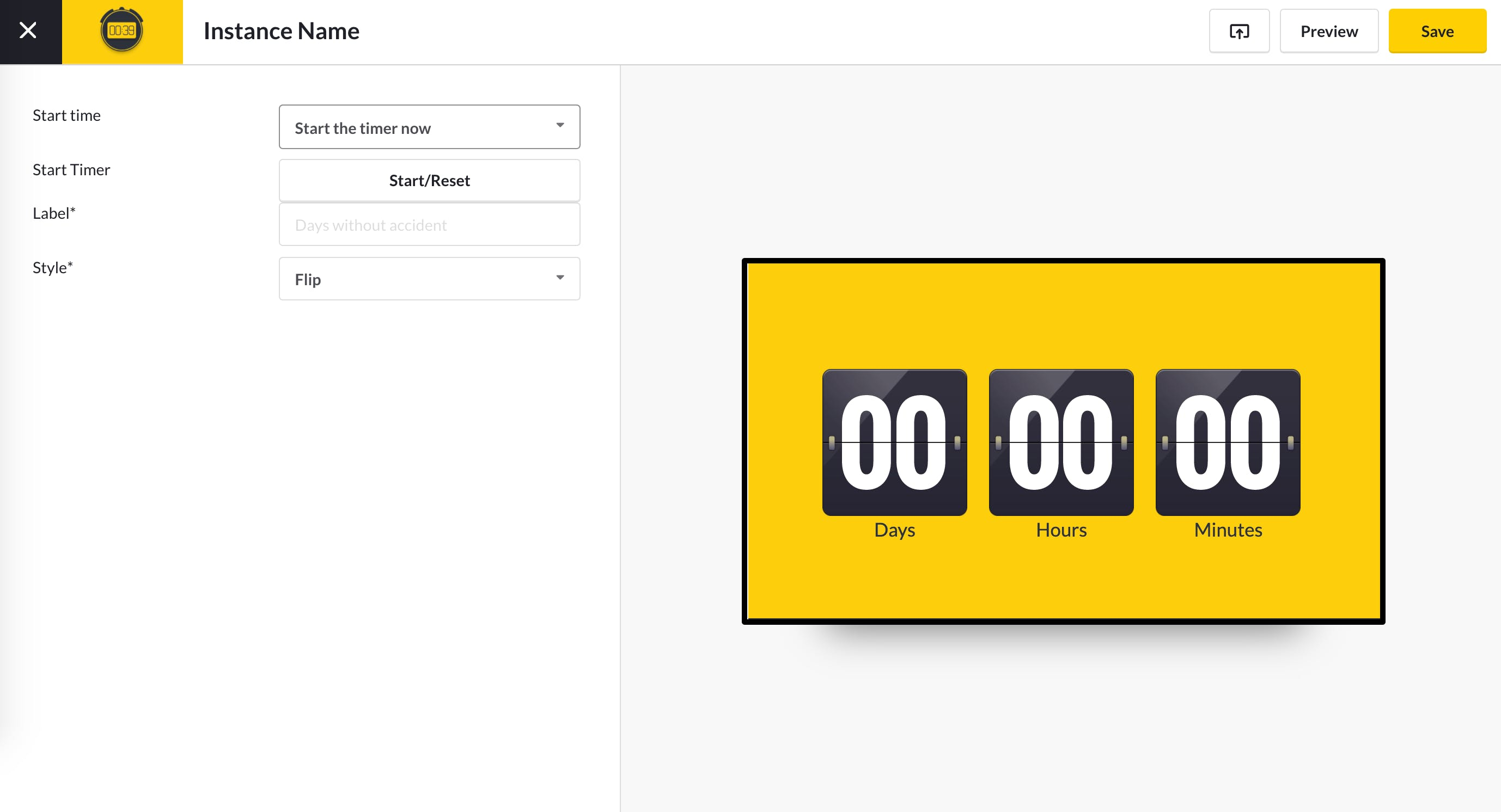 CountUp Timer App Guide - Configure app 5.13.2020.png