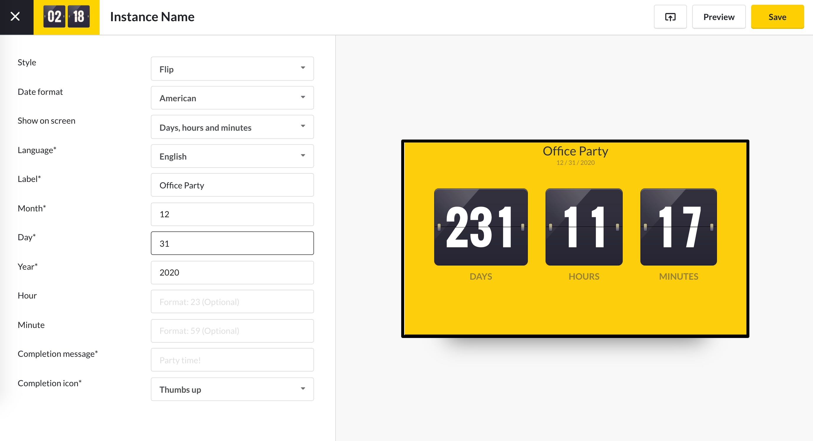 Countdown Timer App Guide - Configure 5.13.2020.png