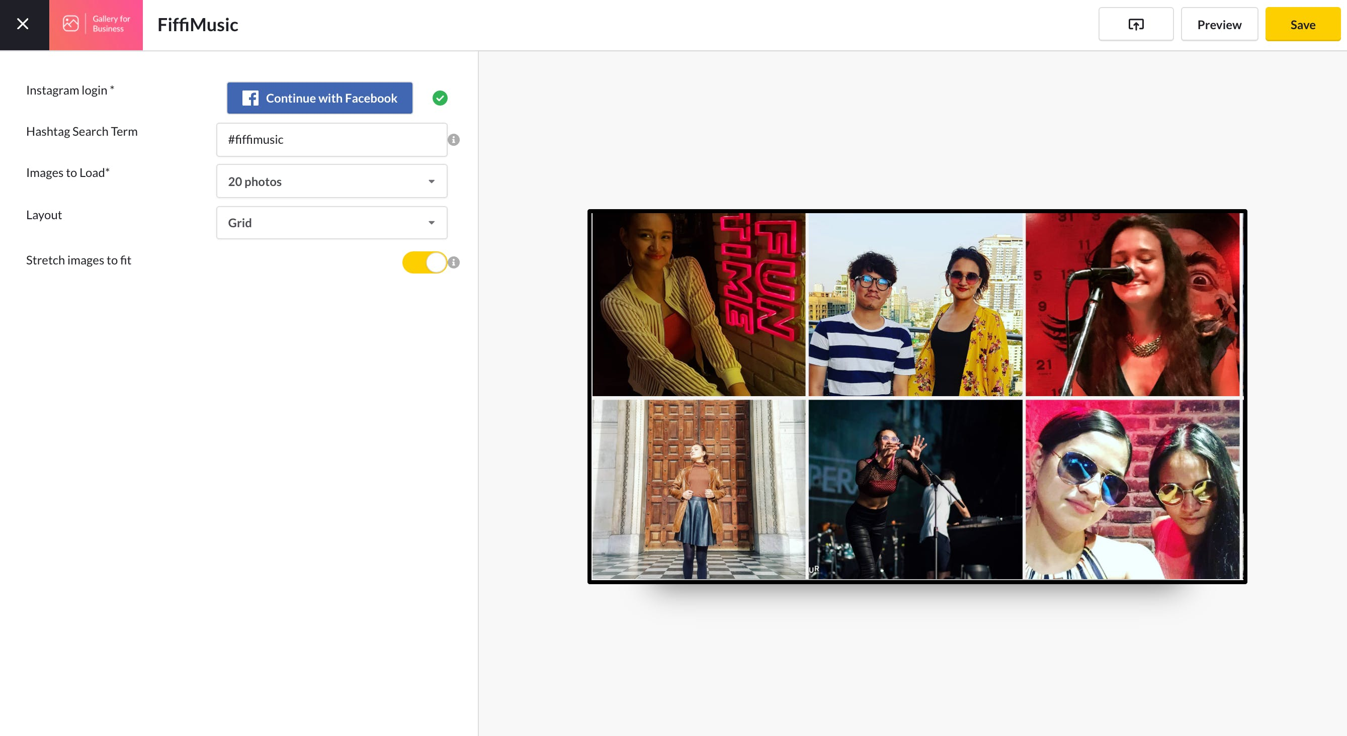 Gallery for Business App Guide - New App Configurations 3.23.2021