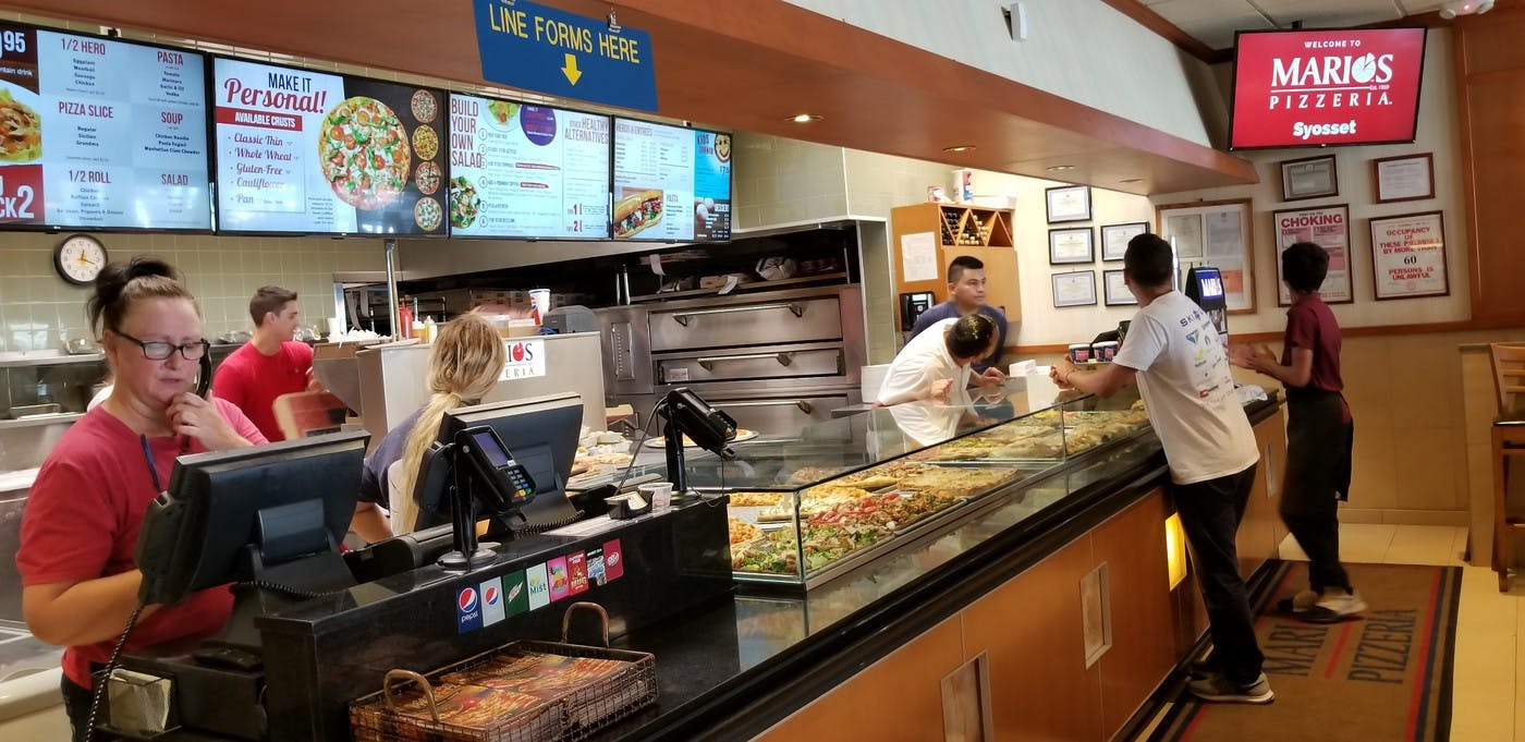 Mario's Pizzeria Increased Sales by Exchanging Outdated Menu Boards with Engaging Digital Signage Menus