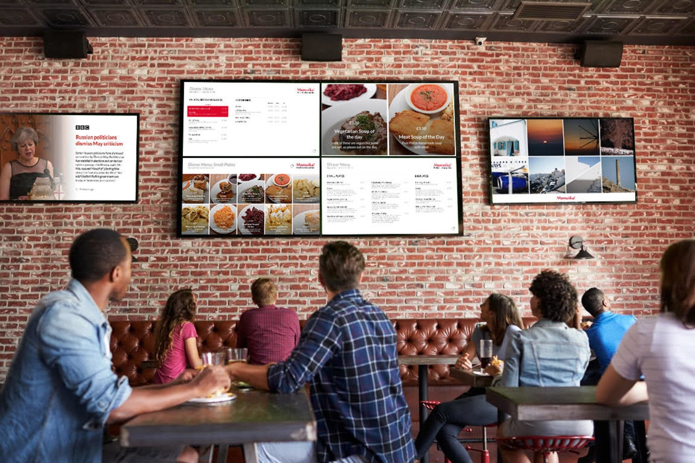 How To Create Menus For Your Restaurant S Tv Screen Screencloud