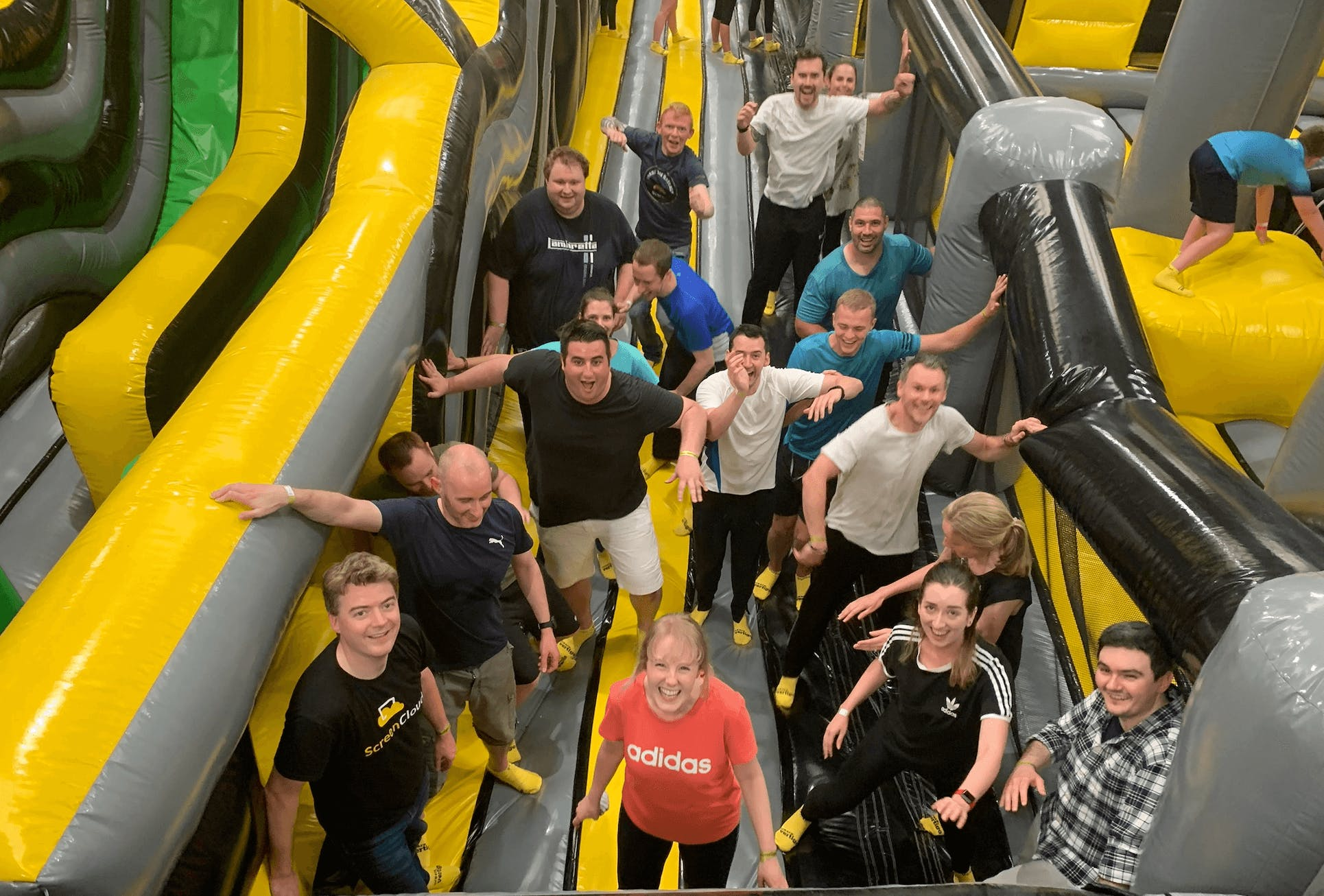 inflatapark team day out