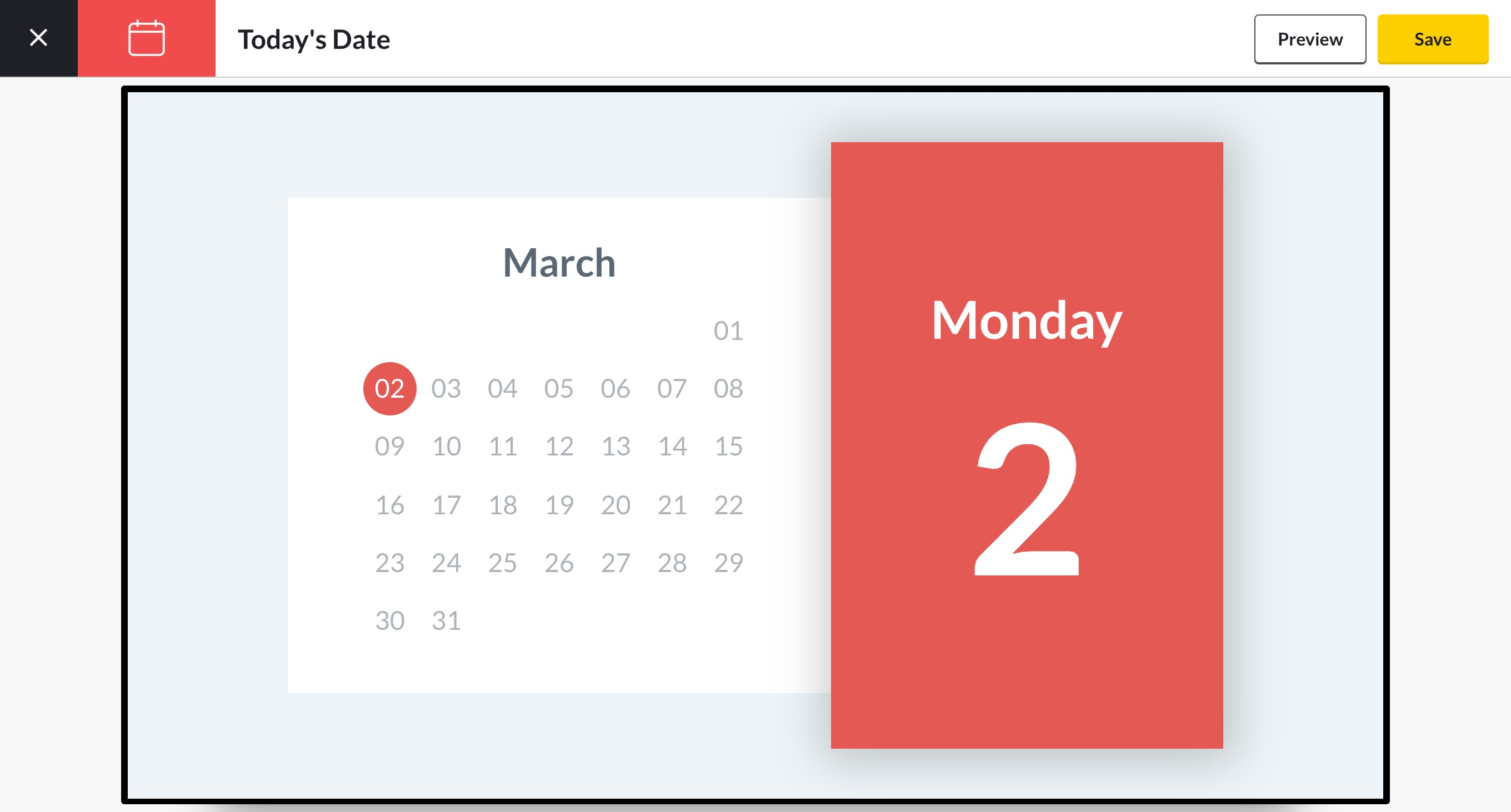 date app preview
