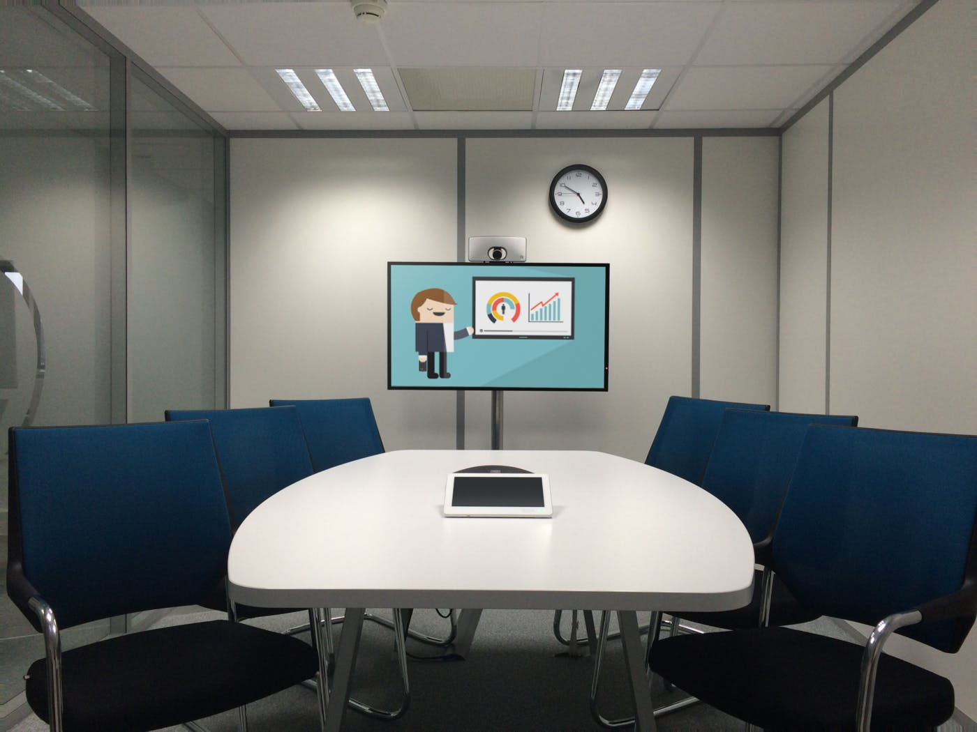 New Ways of Learning in the Workplace Using Screens