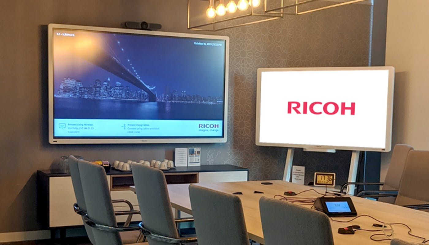 How Global Digital Solutions Provider Ricoh Uses ScreenCloud to Improve Efficiency and Enable a Well-Informed and Connected Workforce