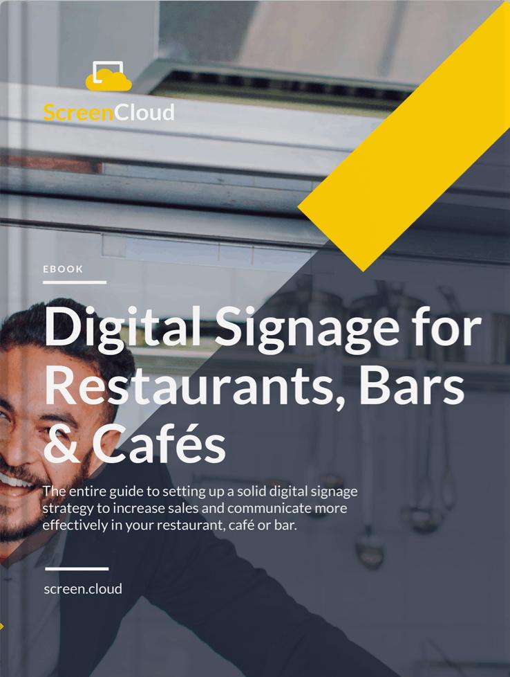 Digital Signage for Hospitality Guide