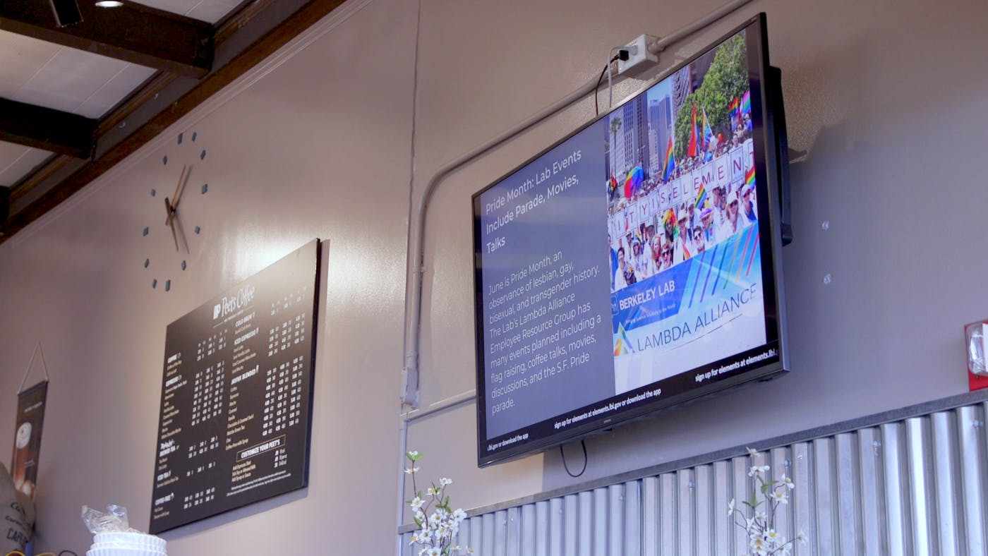 Nobel Prize Winning Berkeley National Lab Uses Digital Signage to Keep Staff Up-To-Date on Important Internal News
