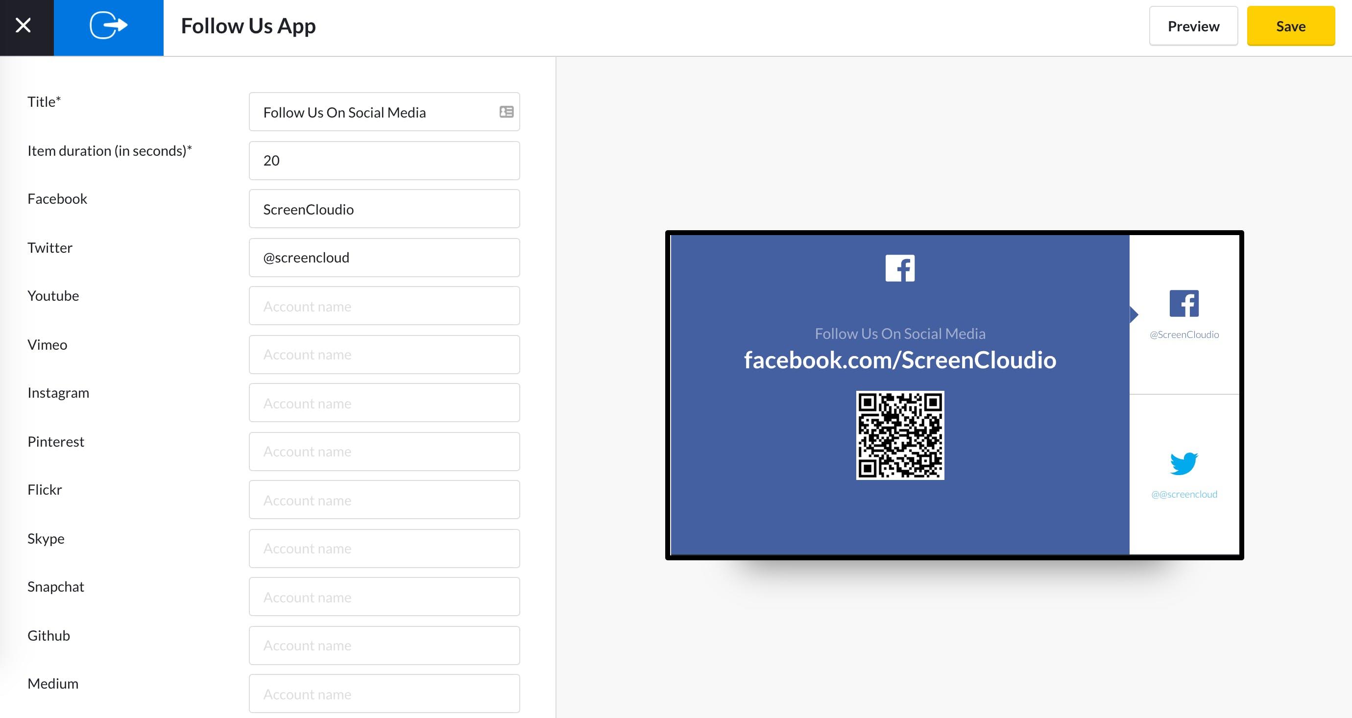 Follow Us App Guide - Enter socials 5.13.2020.png
