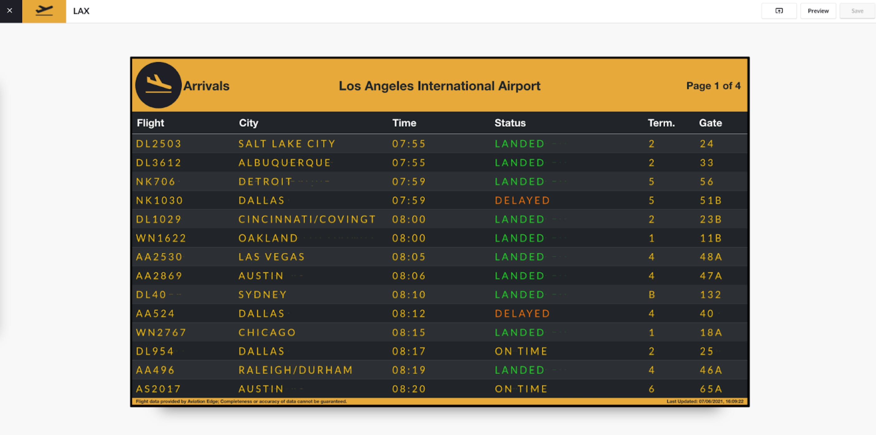 ScreenCloud Flight Schedules - New Preview disclaimer 6.10.2021.png